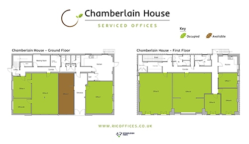 Chamberlain House Floor Plan Thumbnail